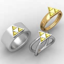 Legend Of Zelda Wedding Bands
