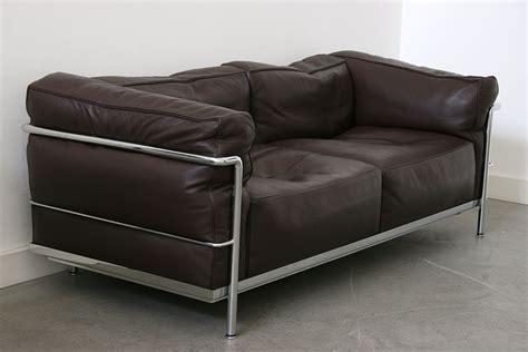 lc3 sofa le corbusier cassina 20th century design