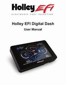 Holley Efi Digital Dash Manual