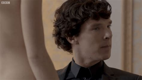 Sherlock Meets The Naked Irene Adler A Scandal In