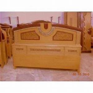 Wooden Double Bed in Jodhpur, Rajasthan, India - Indian ...