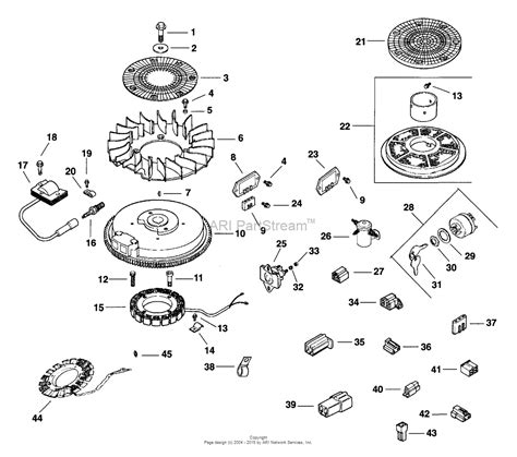 27 Hp Kohler Engine Diagram by Kohler Cv15 41547 Exmark Mfg 15 Hp 11 2 Kw Parts
