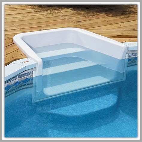 Above Ground Pool Steps For Decks dixon pool and spa gt pools gt above ground gt add on options