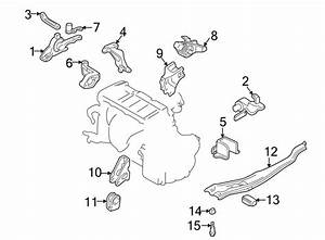 Mazda Protege Automatic Transmission Mount Bracket  Lower