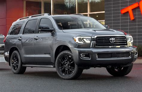 2018 Toyota Sequoia Preview Nadaguides