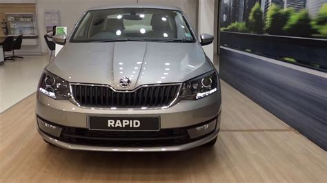 rapid color all new skoda rapid facelift grey silver white all