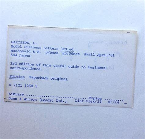 business model models  business letters