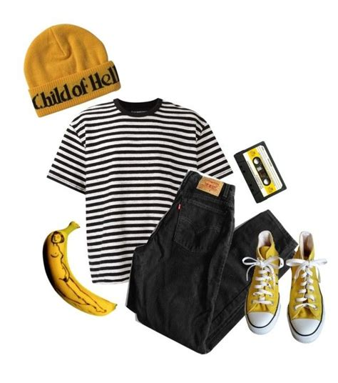 Coupe à La Garçonne Quot Yellow And Mellow Quot By Anklebiterzz Liked On Polyvore Featuring 195 La Gar 195 167 Onne Levi S And
