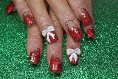 Christmas Glitter Nail Art Ivoiregion