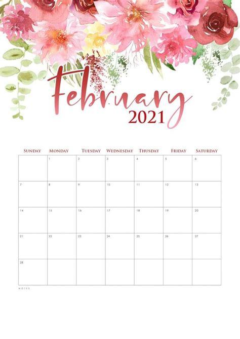 cute watercolor  calendar