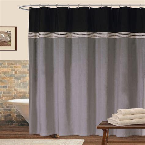 where to buy shower curtains lush decor u08789q11 terra shower curtain ebay