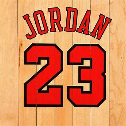 Jordan Michael Bulls Basketball Chicago Number Nba
