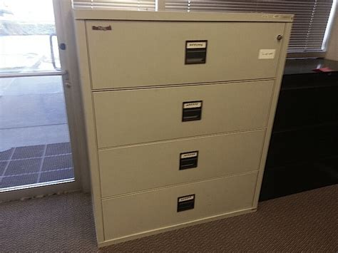 used fireproof file cabinet used fire king fireproof lateral filing cabinets