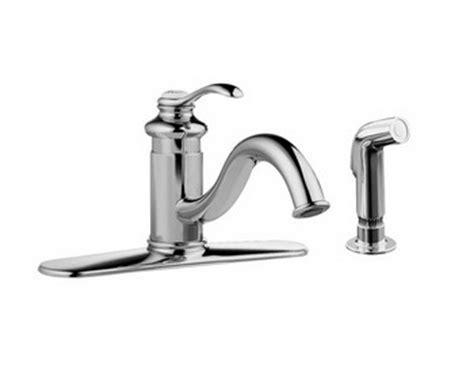 Kohler Fairfax Kitchen Faucet K 12172 by Kohler K 12172 Cp Fairfax R Single Kitchen Sink