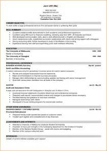 exle of a well written curriculum vitae 6 cv exles for students invoice template