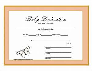 baby dedication document pictures to pin on pinterest With baby death certificate template