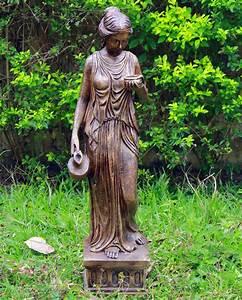 Hebe, 160cm, Bronze, Marble, Resin, Garden, Statue