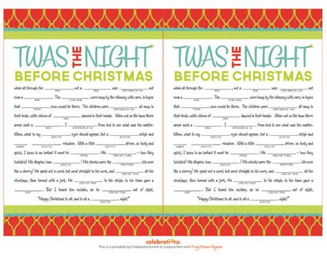 5 Best Images Of Free Printable Christmas Party Games
