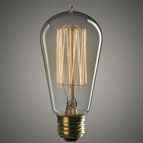 4 75 quot vintage 40 watt edison style light bulb lighting