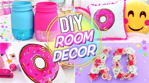 Diy Bright & Fun Room Decor! Pinterest Room Decor For