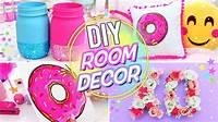 homemade room decorations DIY BRIGHT & FUN ROOM DECOR! Pinterest Room Decor for ...