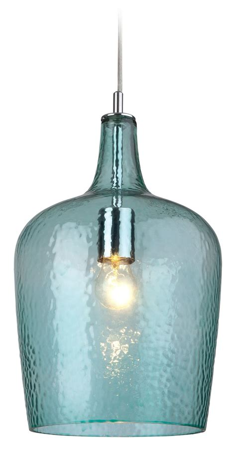 firstlight glass 2301aq pendant light aqua glass