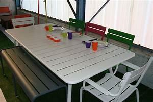 Mobilier De Jardin Fermob : table de jardin imitation fermob ~ Dallasstarsshop.com Idées de Décoration