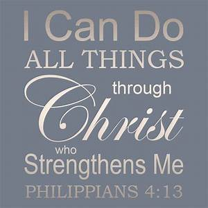 Bible Verses About Strength - Weakness is a Blessing ...