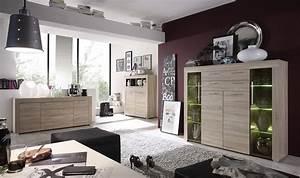 meuble de salle a manger moderne et cocooning With couleur de meuble tendance 5 buffet haut chene clair moderne crossing