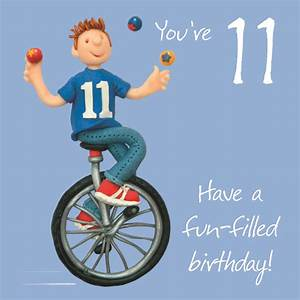Boys 11th Birthday Greeting Card | Cards
