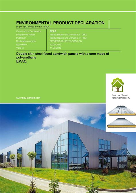 European Quality Assurance Association For Panels And Profiles by European Association For Panels And Profiles