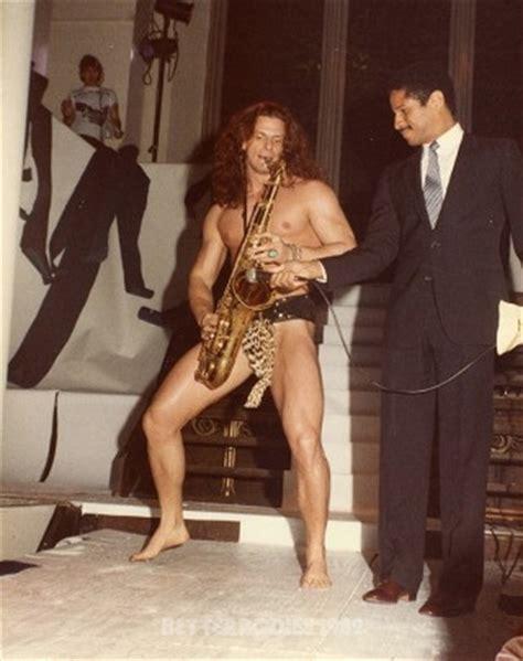 Sexy Sax Man Meme - muscle shows better bodies 1982