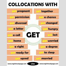 Collocations With Get In English  English Study Page