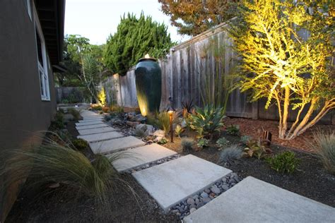 modern lanscaping lighting a mid century modern landscape design mid century modern remodel