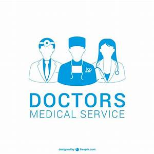 Doctors silhouettes Vector | Free Download