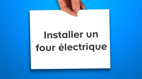 installer un four 233 lectrique castorama