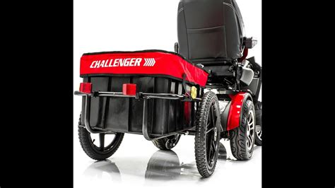 challenger scooter trailer  pride electric scooter