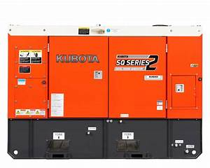 Sq1150 Diesel Generator  U2013 Kubota New Zealand