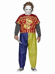 Berühmte Paare Kostüm : michael myers kost m clown halloween kost m ~ Frokenaadalensverden.com Haus und Dekorationen