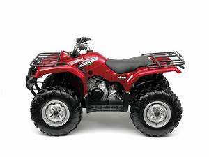 Yamaha Grizzly 350 4x4 Irs Specs - 2008  2009
