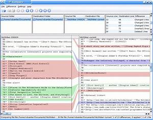 kompare wikipedia With documents compare tool
