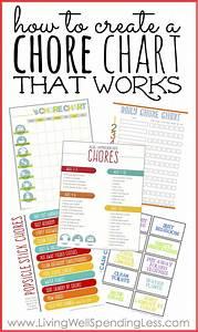 Kids Chore Charts on Pinterest