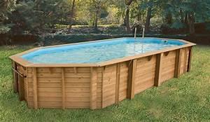 Piscine Bois Ubbink : piscine bois azura 400 x 750 x 130 liner beige promo ~ Mglfilm.com Idées de Décoration