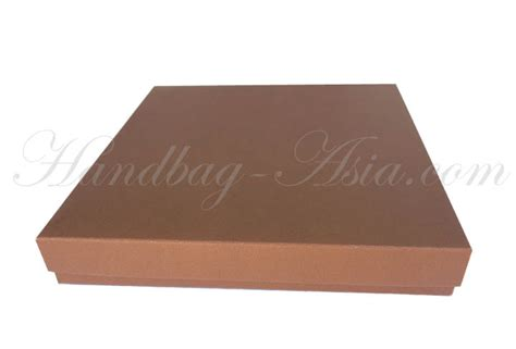 Light Brown Mailing Box For Wedding Invitations