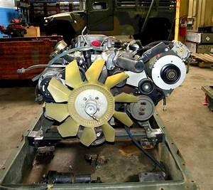 Hmmwv 6 5 Turbo Diesel Engine 8 Cylinder With 100 Amp