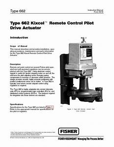 662 Instruction Manual By Rmc Process Controls