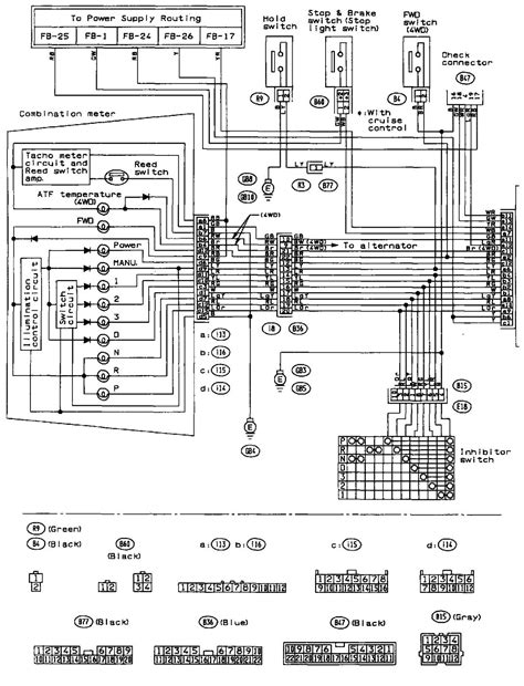 Subaru Legacy Radio Wiring Diagram Database
