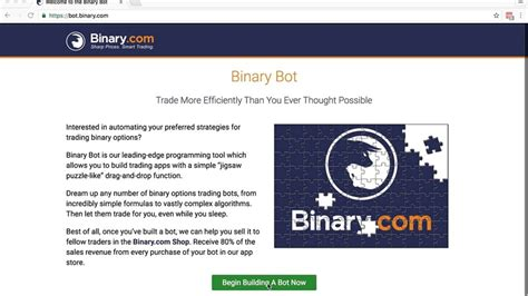 Even not many people heard about this bot. Another free RSI based Binary Bot - The place for all finance