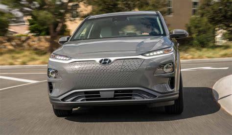 Hyundai Electric Suv 2020 by 2019 Hyundai Kona Electric Suv Review And Colors 2019