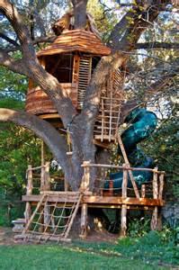 Wooden Treehouse Dollhouse